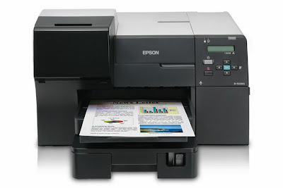 Download Epson B-510DN Business Color Inkjet printer driver and Install guide