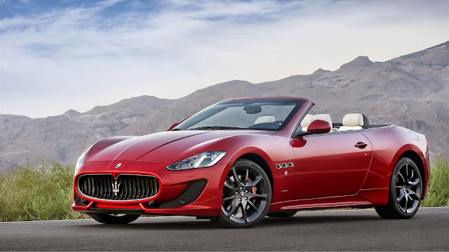 Maserati Gran Cabrio Car