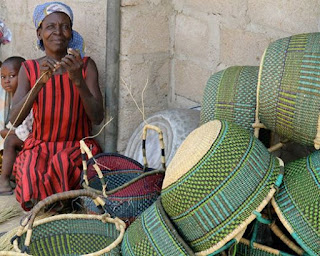 Basketry in Ghana Fair Trade
