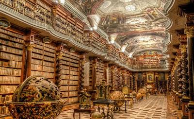 buongiornolink - A Praga si trova una delle più belle biblioteche del mondo