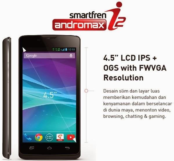 Harga Smartfren Andromax I2 Terbaru Februari 2015