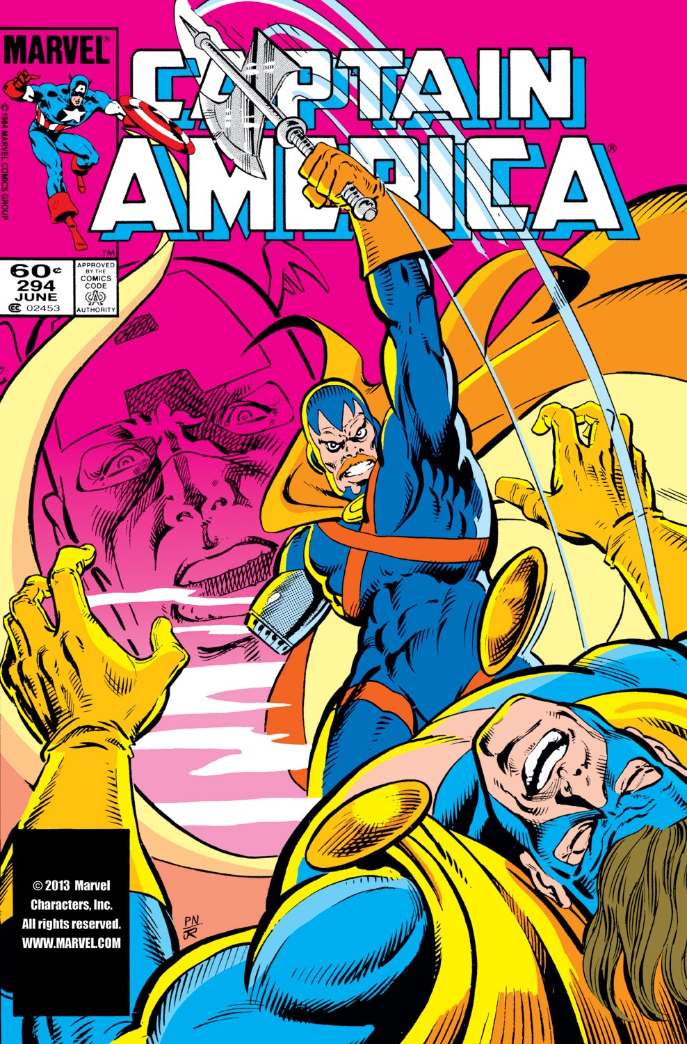 Captain America (1968) Issue #294 #222 - English 1