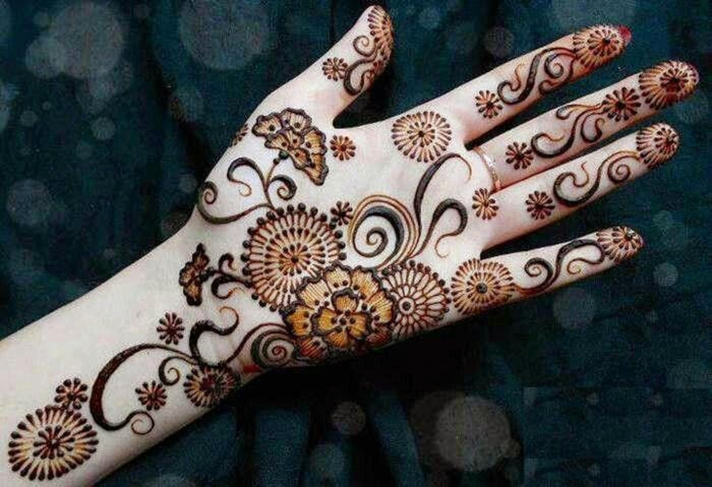 Mehndi Beautiful Design Images : Bridal mehndi designs july
