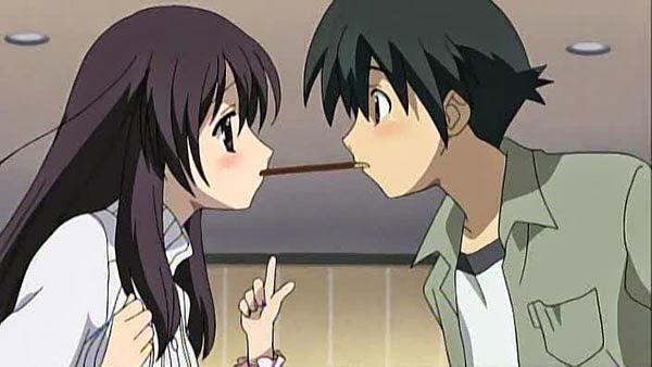 Makoto Itou and Kotonoha Katsura (School Days)