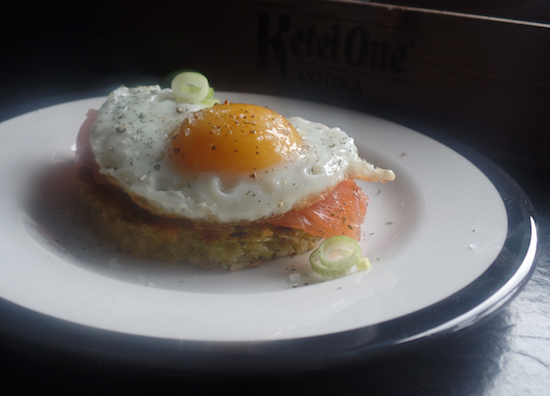 Salmon Potato Rosti Recipe