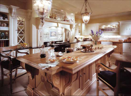 Edwardian Kitchen In Ivory U0026 Natural Oak (Photo Images Courtesy Of Clive  Christian Furniture)