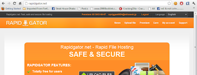 RAPIDGATOR premium accounts 20 september 2012