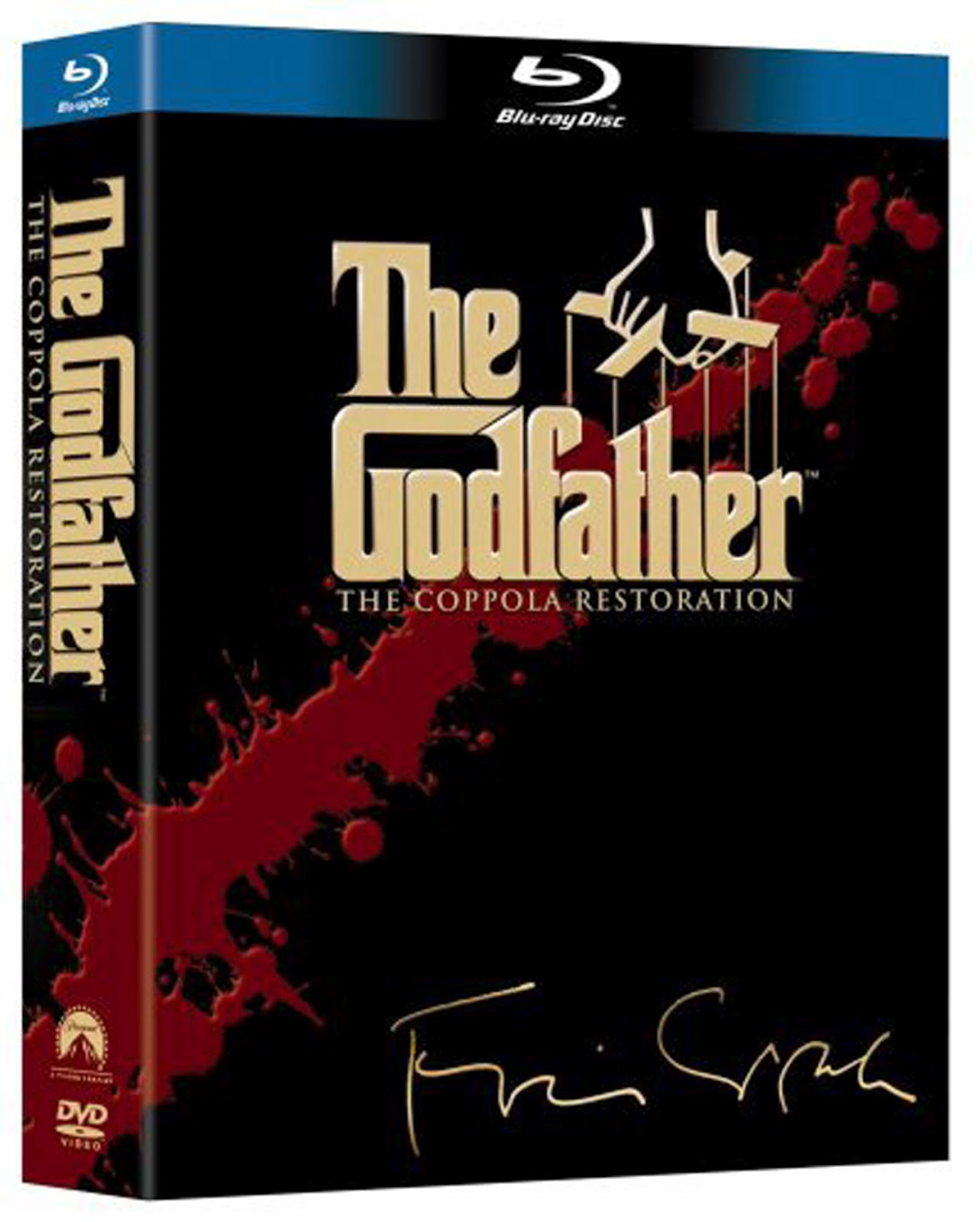 The Godfather1 Blu-ray DVD Case