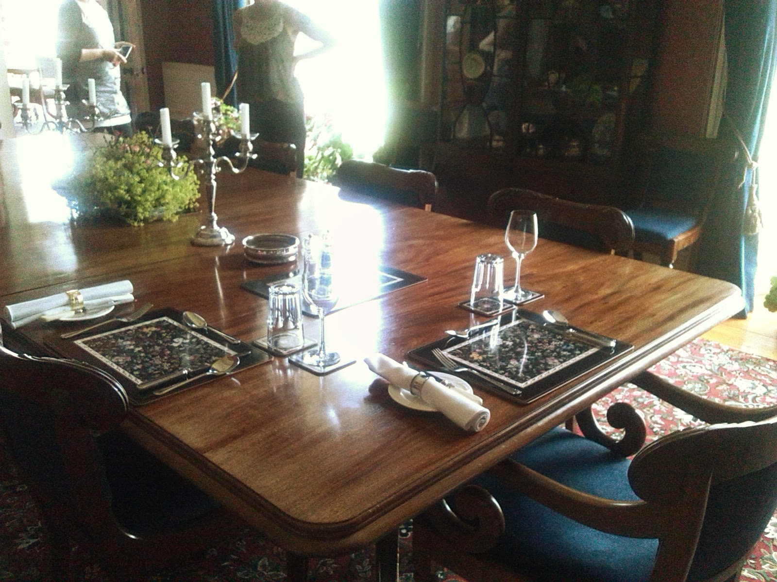 Dining Table in Ballinkeele House