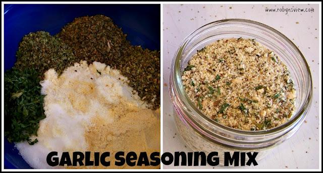 Gifts in a Jar: Garlic Bread Seasoning Mix