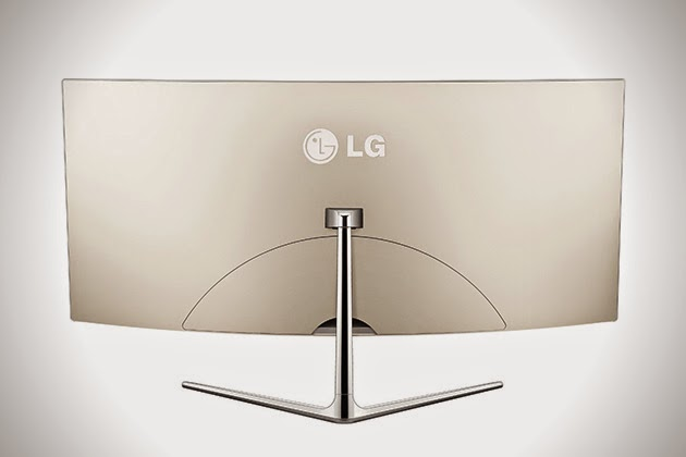 LG Cineview Curved Ultrawide LED Monitor