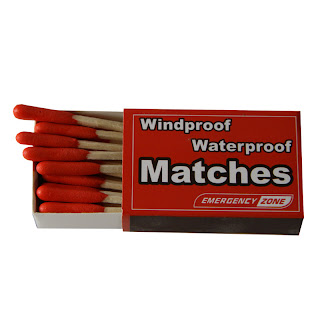 Image of Windproof Waterproof Matches by Emergency Zone