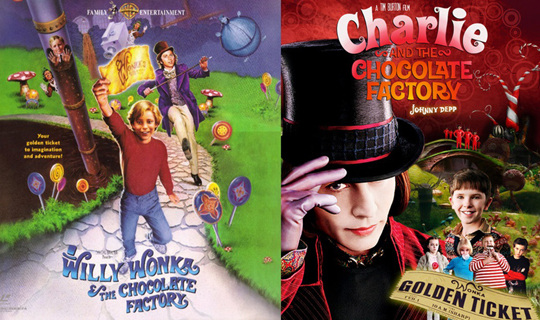 willy wonka vs charlie and the chocolate factory essay Charlie and the chocolate factory (1964) is a children's book by welsh author roald dahl this story of the adventures of young charlie bucket inside the chocolate factory of eccentric candymaker willy wonka is often considered one of the most beloved children's stories of the 20th century.