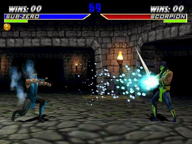 game gratis mortal kombat 4 PS1 tanpa emulator