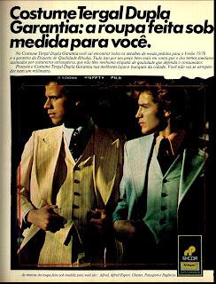 moda anos 70. propaganda decada de 70. reclame anos 70. Oswaldo Hernandez.