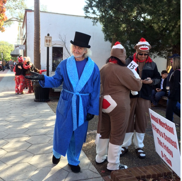 Dress up at Christmastide in Amelia Island