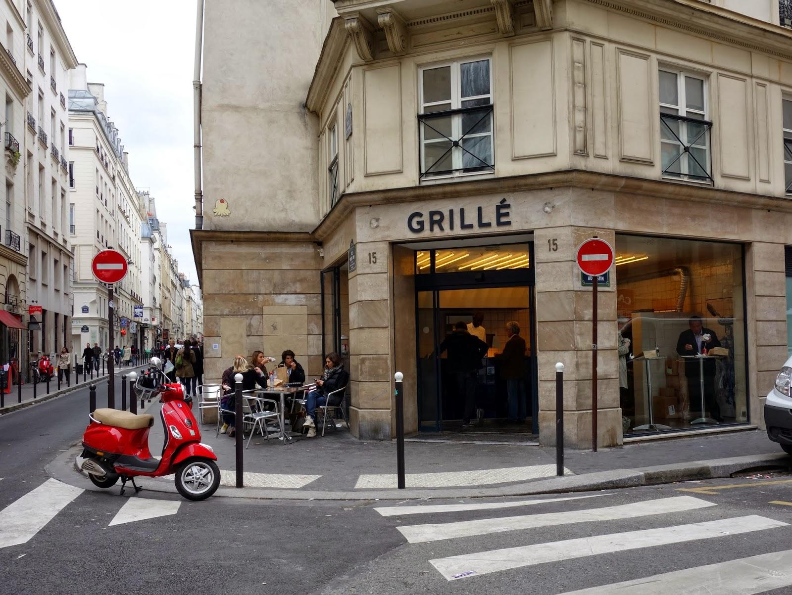 Mes adresses grill le kebab gastronomique au coin de la rue 15 rue saint augustin paris - Restaurant la grille paris 10 ...