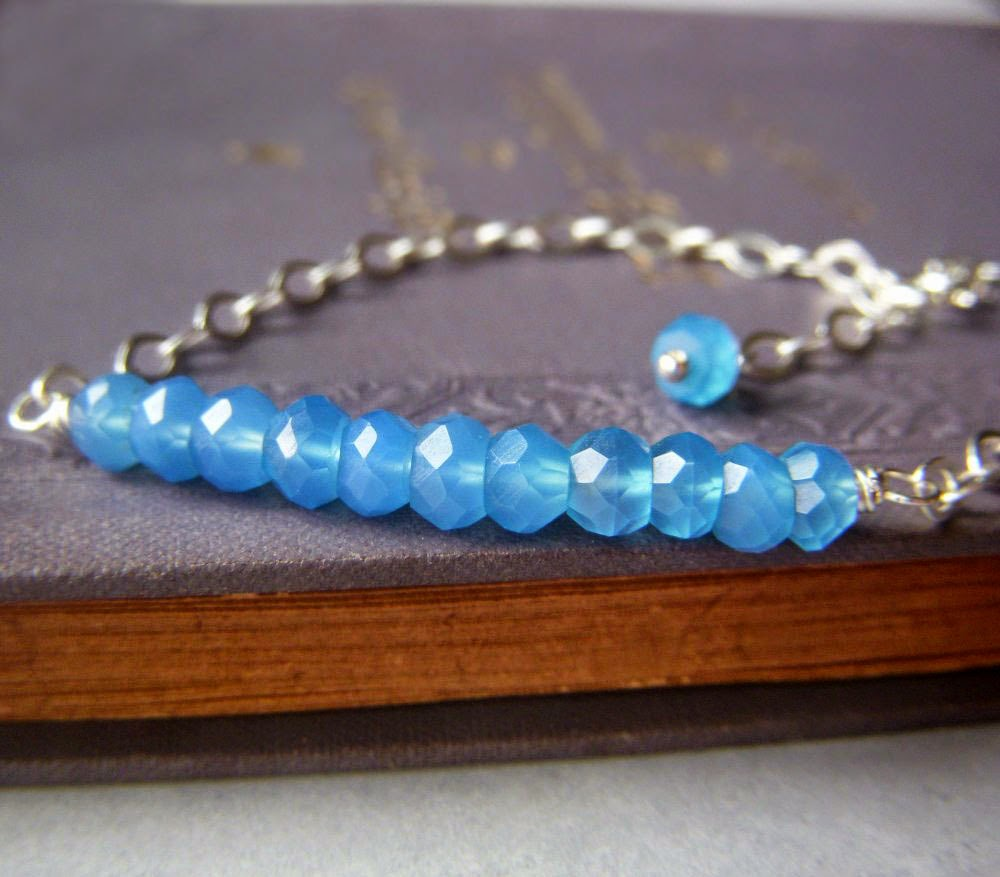 https://www.etsy.com/listing/177703144/blue-rondelle-bracelet-sterling-silver