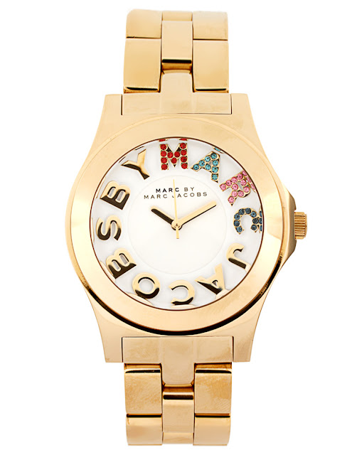 Marc Jacobs Gold Watch at ASOS