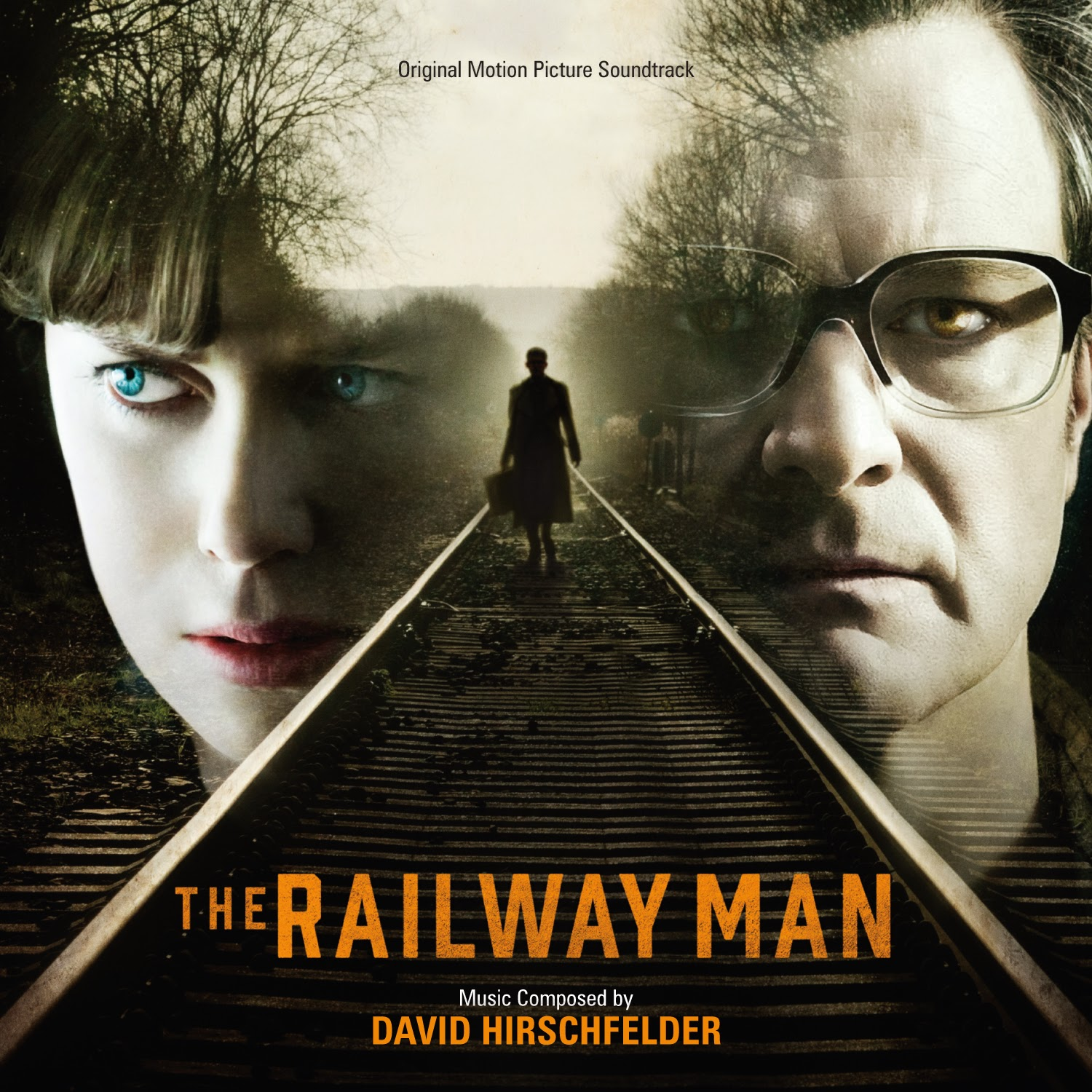 The Railway Man soundtrack album cover