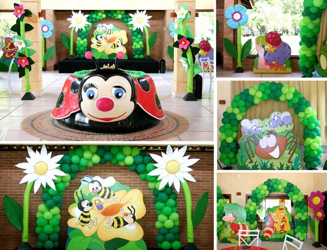 festa jardim infantil : festa jardim infantil:Baby Guide Festa Infantil: Festa no Jardim por Xic Balloon
