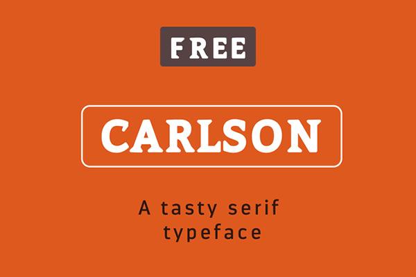 Download Gratis Font Terbaru September 2015 - Carslon Free Font