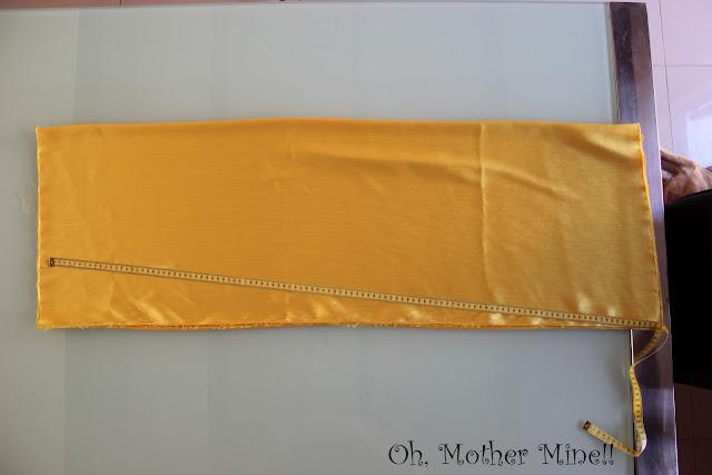 Blog de costura. Cómo hacer y coser una falda larga DIY