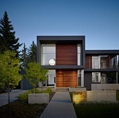 Fachadas de casas modernas for Ventanas para fachadas de casas modernas