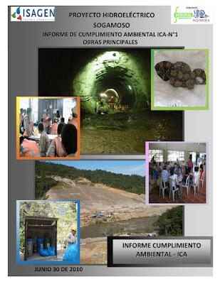 INFORME DE CUMPLIMIENTO AMBIENTAL ICA-N°1 OBRAS PRINCIPALES