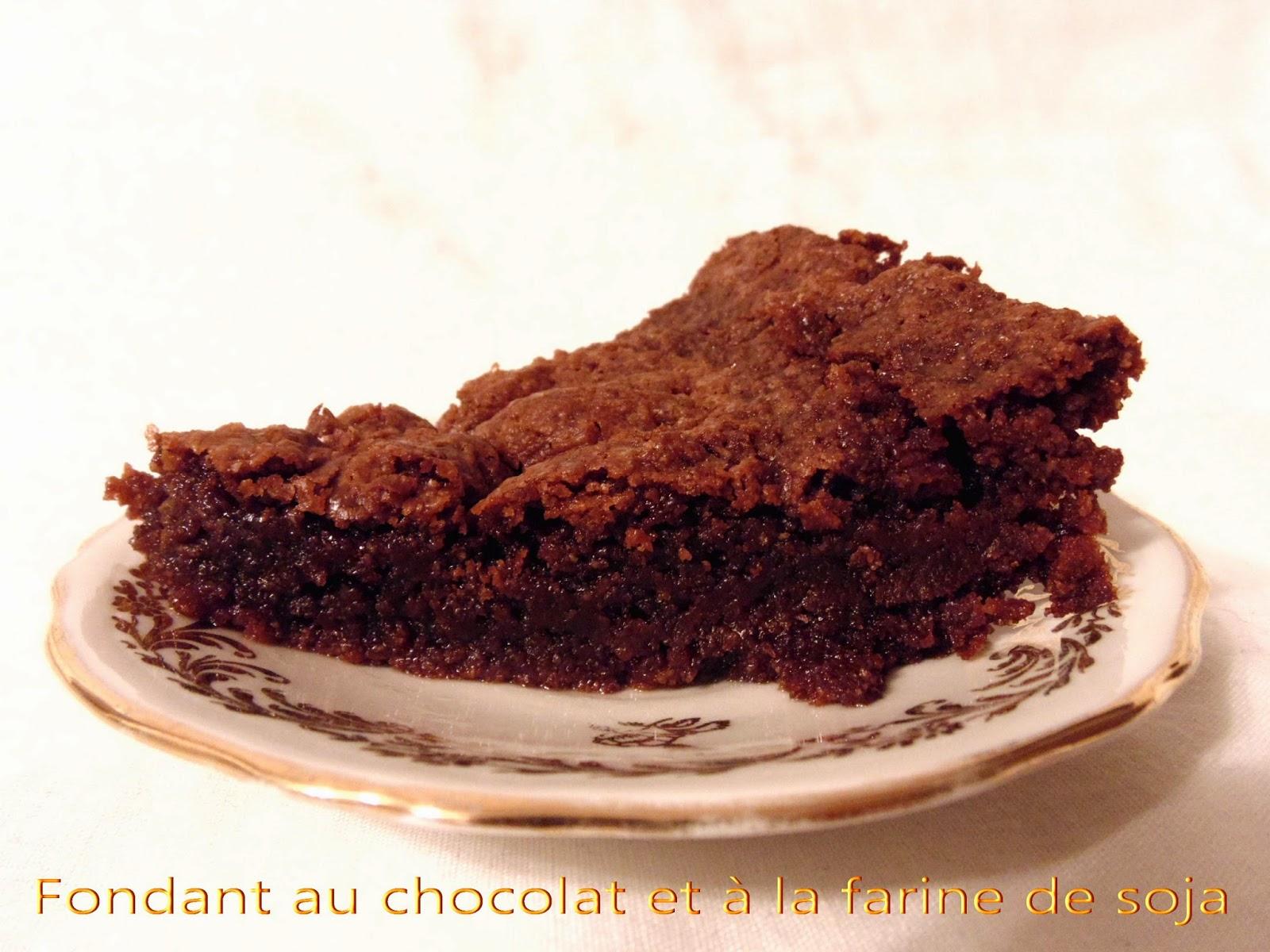 Gateau gaga love cakes fondant au chocolat et lfarine de soja sans oeuf - Fondant au chocolat sans oeuf ...