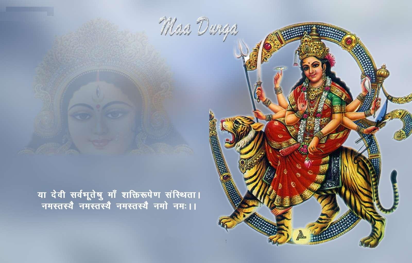 Khushi For Life Free Maa Durga Hd Desktop Wallpaper Photo Images
