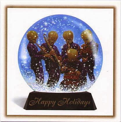 1995 Lucasfilm Christmas Card