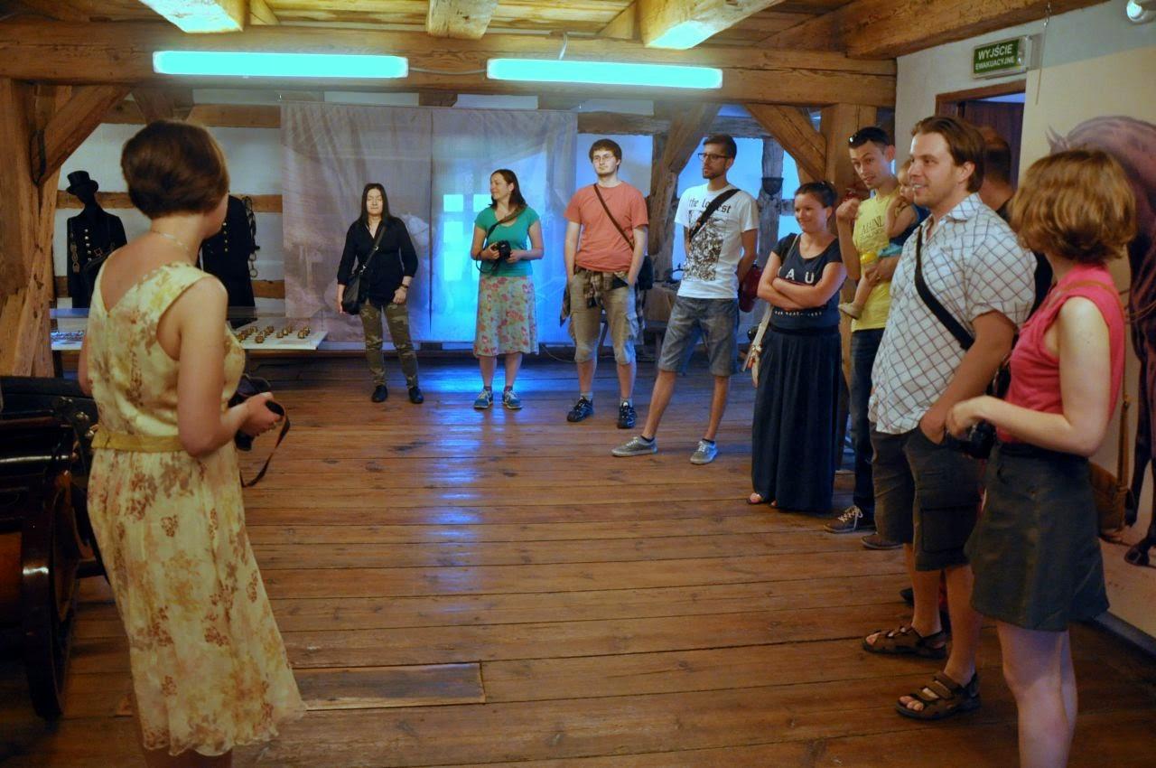 Spotkanie dolnośląskich blogerów w muzeum powozów w Galowicach