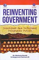 toko buku rahma: buku REINVENTING GOVERNMENT , pengarang abidarin rosidi, penerbit andi