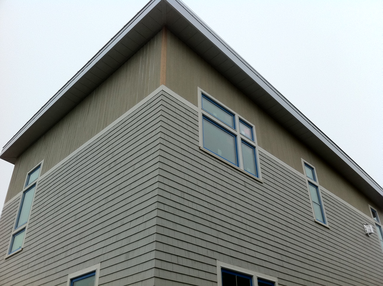 Net Zero Energy Cape Cod Drywall And Exterior Finishes