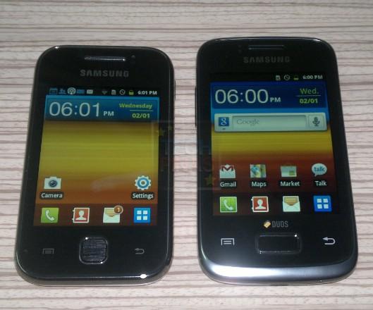 Samsung Galaxy Y and Samsung