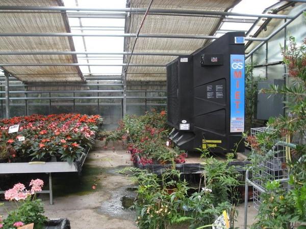 Instalaci n evaporativo invernadero y jardineria for Invernaderos de jardin