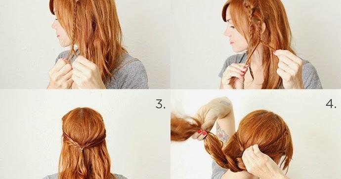 tutorial de penteado fácil