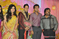 Celebraties at Actor Bharat n Jessy Wedding Reception Photos+%2528144%2529 Actor Bharath n Jessy Wedding Photos