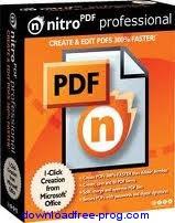 تحميل برنامج 3.3.3.0 Nitro PDF محرر ملفات ال PDF