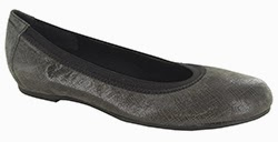 Munro Ashlie Grey Crosshatch Suede