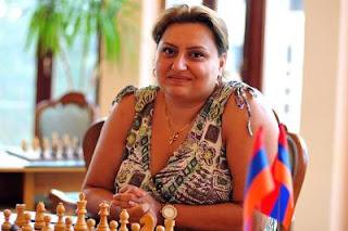 Echecs à Jermuk : l'Arménienne Elina Danielian (2480) - Photo © site officiel