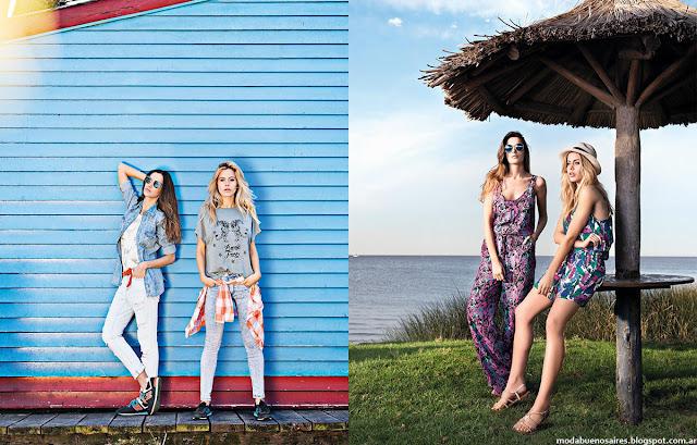 Moda 2016 primavera verano Wupper Jeans.
