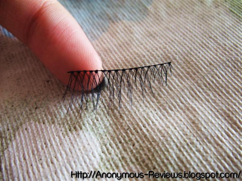 How I apply False eyelashes [Strip + Individual]