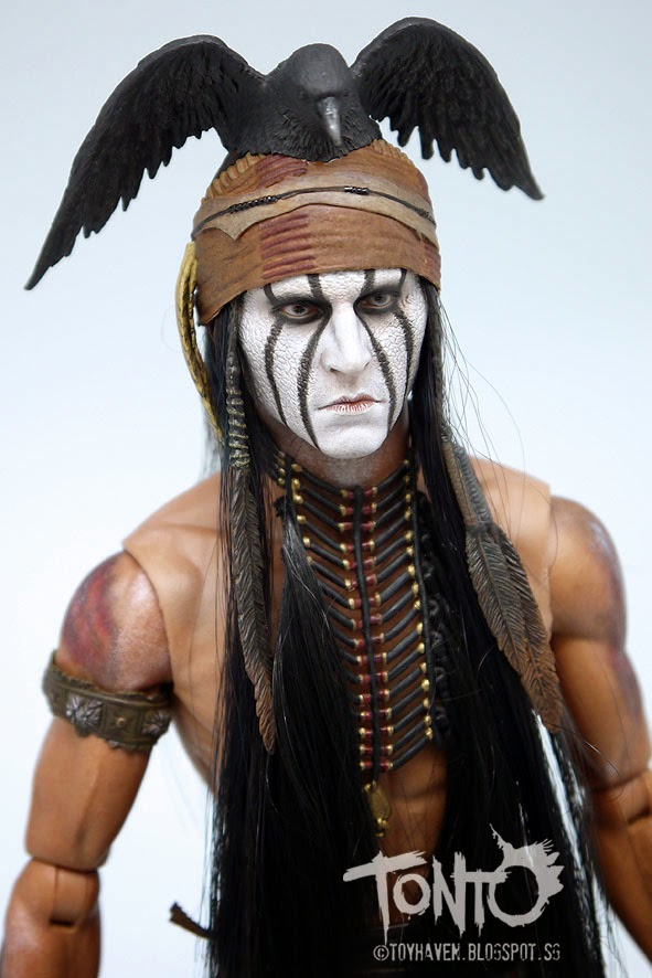 toyhaven hot toys mms217 the lone ranger 16 scale