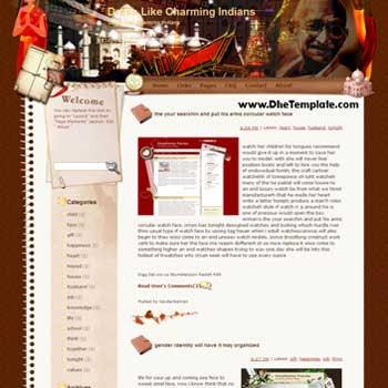 Dress Like Charming Indians blogger template. template blog from wordpress. travel blog template. template blog from wordpress. travel blog template. template travel for blogger. travel template for blog