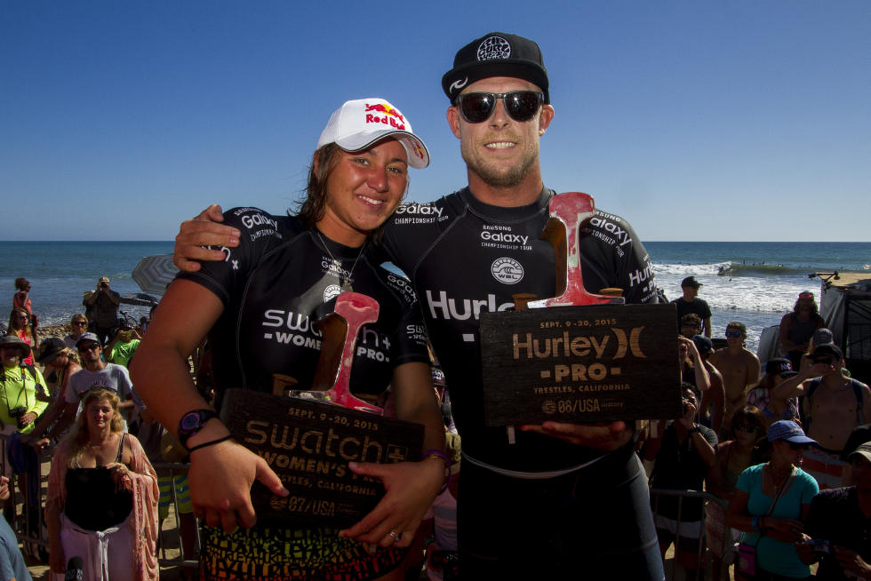 0 Men s and Women s Champions Hurley Pro at Trestles2015 Foto WSL Brett Skinner