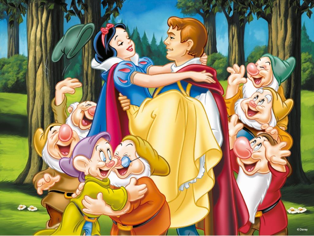 Blancanieves, el príncipe y los 7 enanitos según la versión de