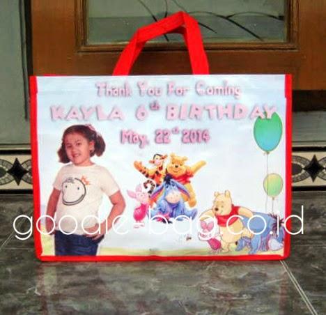 Tas Ulang Tahun Banner Murah