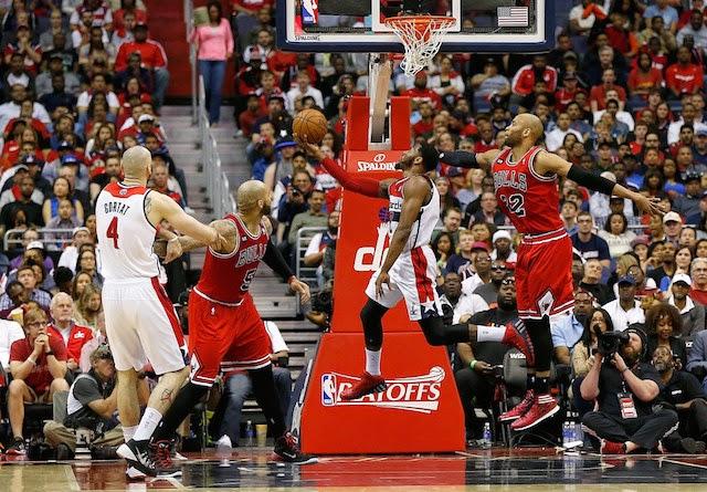 Wizards eliminan a Bulls en cinco partidos